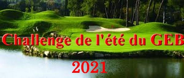 Challenge du GEB 2021 – 17 juillet 2021