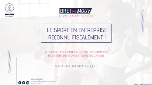 Cotisations sociales_Sport en Entreprises